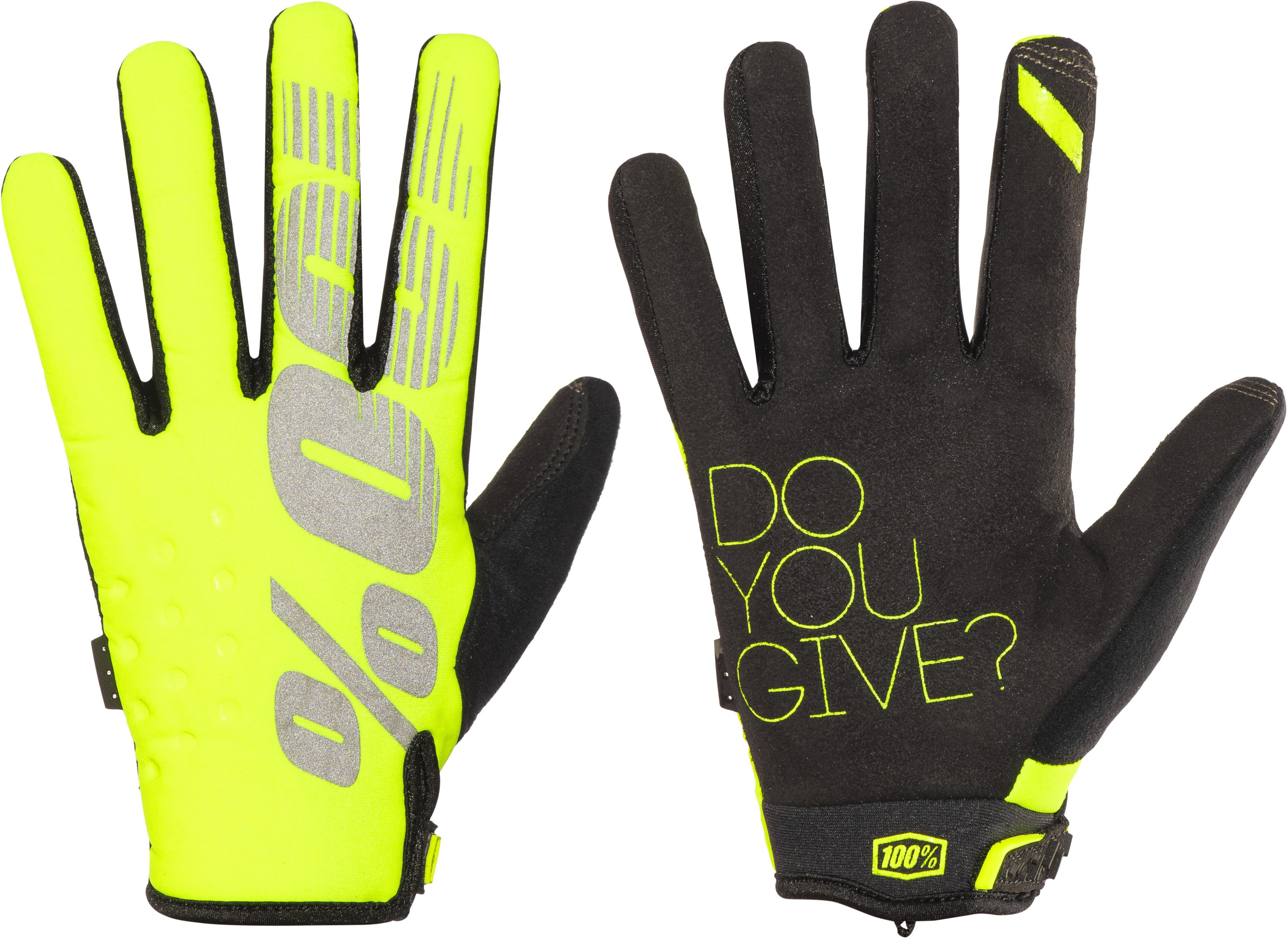 100% Brisker Gloves yellow online kaufen | fahrrad.de
